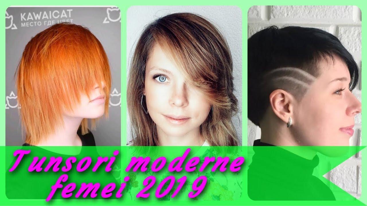 Top 20 Modele De Tunsori Moderne Femei 2019 Youtube