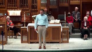 """Sermon 5.16.21 """"Ascension"""""""