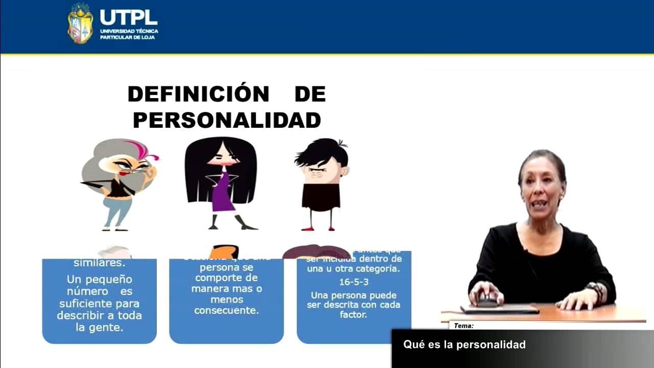 Utpl qu es la personalidad psicolog a psicolog a de for Que es divan en psicologia