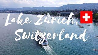 Lake Zürich, Switzerland Drone Flight Video