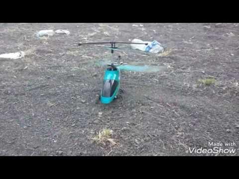 Helicóptero choca contra un poste en la frontera  - alamor-peru