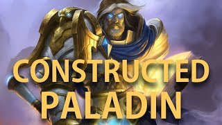 Even Paladin vs Odd Control Warrior: Long game! [Hearthstone Boomsday]
