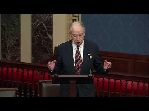 Grassley Discusses National Security Implications of the Southern Border Crisis