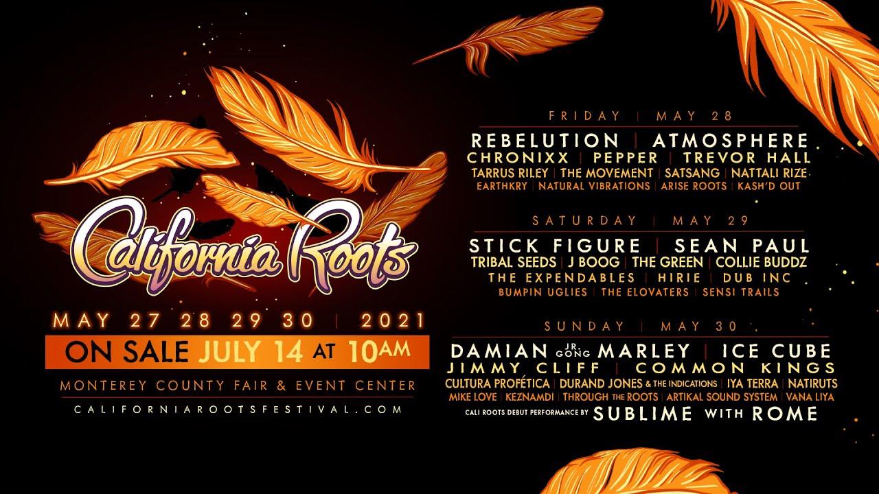 Cali Roots Returns - May 27-30, 2021