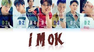 iKON (아이콘) - I'M OK (Color Coded Lyrics نطق عربي)