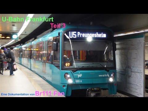 Br111 Fan: U Bahn Frankfurt Teil 3 B-Stammstrecke (U4,U5)