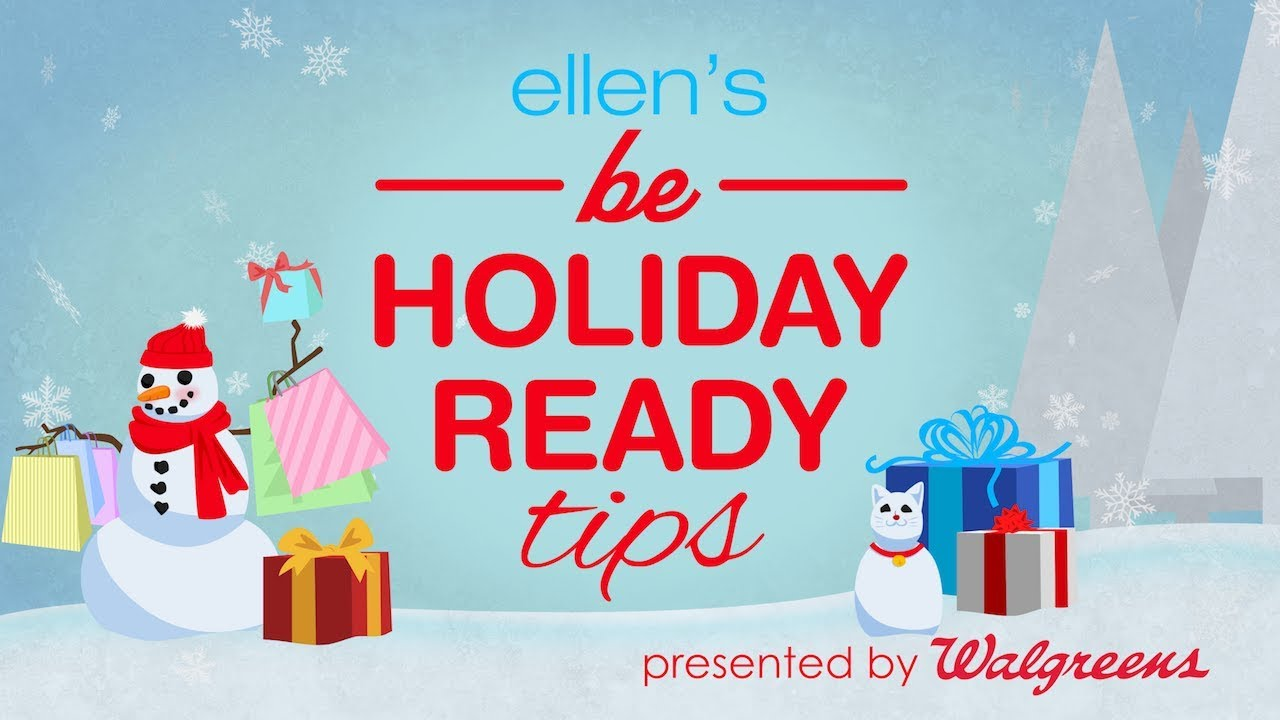 Ellens Holiday Shopping Tips Youtube
