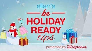 Ellen's Holiday Shopping Tips