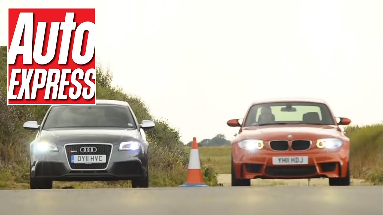Audi Rs3 Sportback V Bmw 1 Series M Coupe Drag Race Auto Express