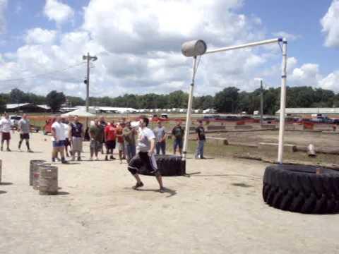 Illinois' Strongest Man 2009 - Event 3 - Keg Toss