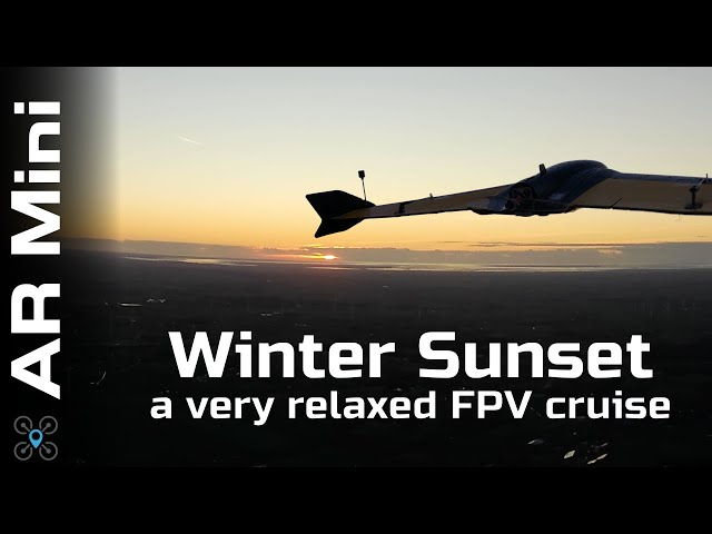 Let's fly into a Winter Sunset | Mini Ar Wing EP:11