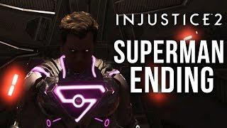 SUPERMAN ENDING (Bad Ending) - INJUSTICE 2 STORY MODE Gameplay Walkthrough Part 10 - Chapter 12