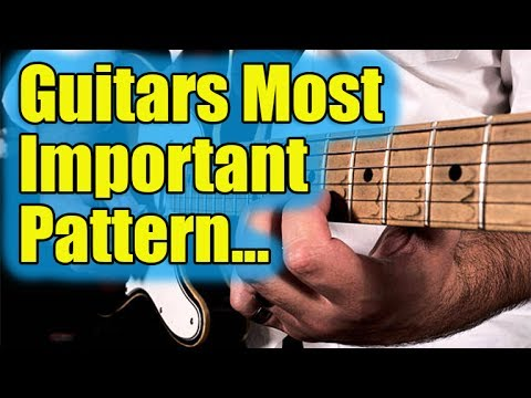 "Guitars Most Important Pattern - The ""Frying Pan"""