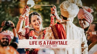 LIFE IS A FAIRYTALE - Ahaana Deol & Vaibhav Vohra Wedding Trailer