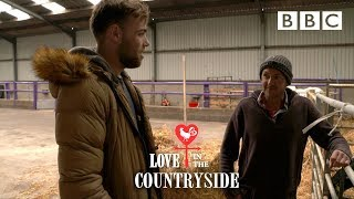 Tom prepares for his date with farmer Richard - Love in the Countryside - BBC