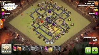 Jaddar vs th9 maxed defense GOWIHOG low heroes - JADDAROTTO.SRL #20