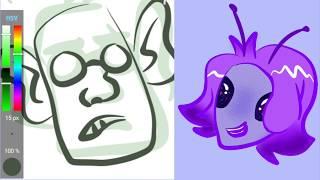 Character Sketching  Speedpaint