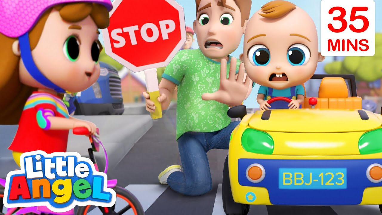 Green Light Go! Red Light Stop! + More Little Angel Kids Songs & Nursery Rhymes