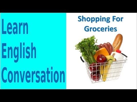 Shopping For Groceries | Learn English Conversation