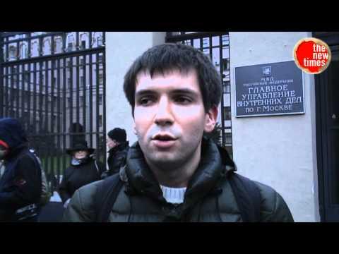 Избит журналист Олег Кашин. Пикет протеста
