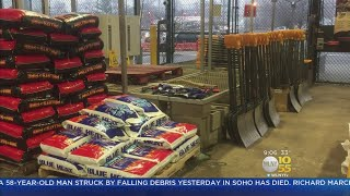 NJ Residents Stock Up For Storm