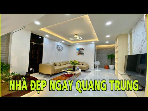 Bán nhà Gò Vấp 888 | Nhà phố 3.5 lầu thiết kế đẹp ngay Quang Trung Gò Vấp hơn 6 tỷ thôi