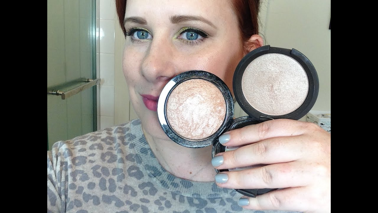 ... Soft and Gentle Vs. Becca Shimmering Skin Perfector in Opal - YouTube