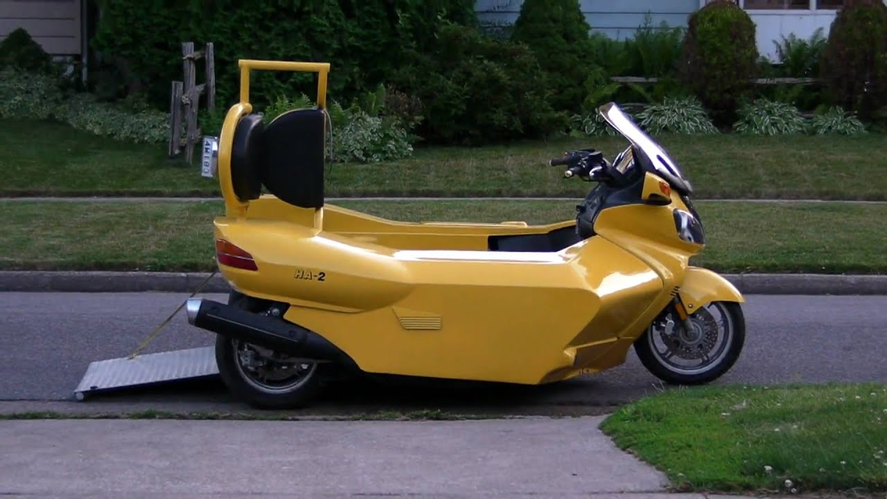 My wheelchair accessible motorcycle trike youtube for Motor wheelchair for sale