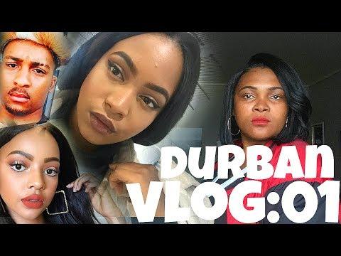 Durban Vlog 01: Mihlali N Look-Alike..Stalking MasterMind aka Tk_dee and JUST WIERDNESS!!!