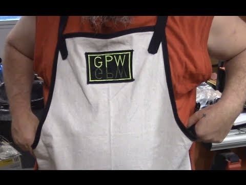 GPW 157 - DIY Shop Apron (from canvas drop cloth)