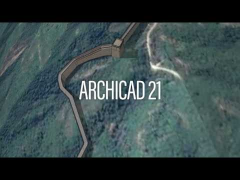 Modeling the Great Wall of China –Classics Remodeled in ARCHICAD