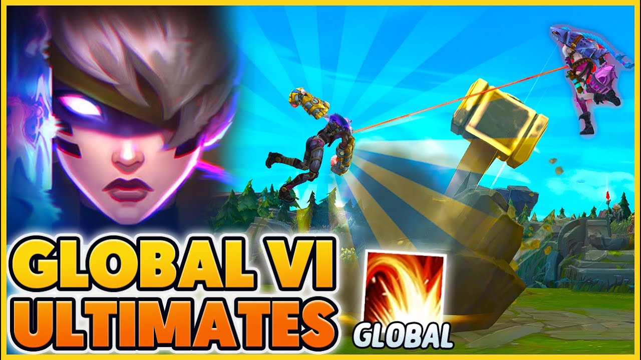 """FUNNY """"GLOBAL ULTS"""" (NEW Psi Ops Vi Skin) - BunnyFuFuu 