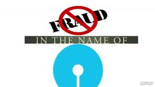 Faking the fakers - SBI fraud