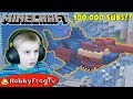 100 Thousand Subs Minecraft Deep Sea Monsters by HobbyFrogTV