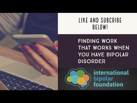 Finding Work That Works When You Have Bipolar Disorder