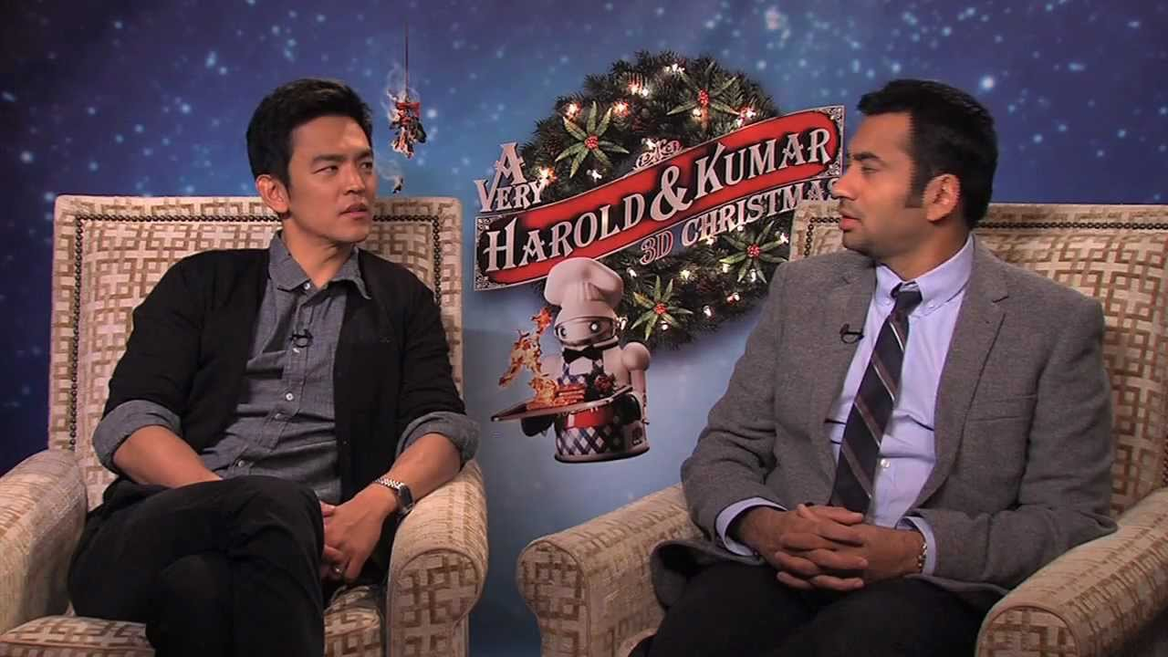 marisa interviews the cast of a very harold and kumar 3d christmas - A Very Harold Kumar 3d Christmas Cast