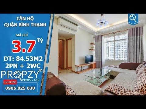 Bán căn hộ sang trọng Saigon Pearl quận Bình Thạnh, 2 phòng ngủ diện tích 85m2 | Propzy