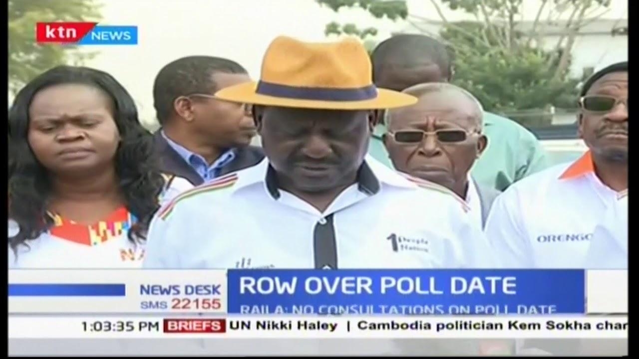 NASA reject the set October 17th election date saying the ...