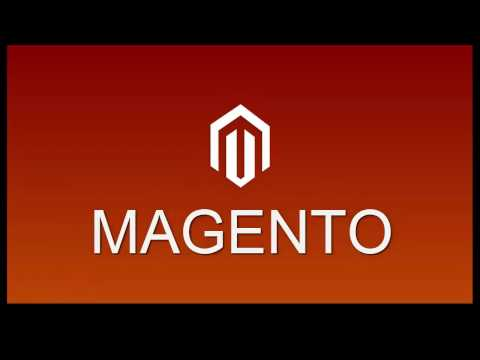 The dashboard MAGENTO 2 e-Commerce store shop online - tutorial #3