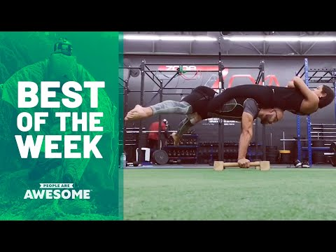Best of the Week: Martial Arts, Fitness, Gymnastics & More | People Are Awesome