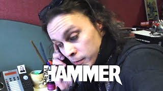 Ville Editing The HIM Tears On Tape Metal Hammer Fanpack Magazine Metal Hammer