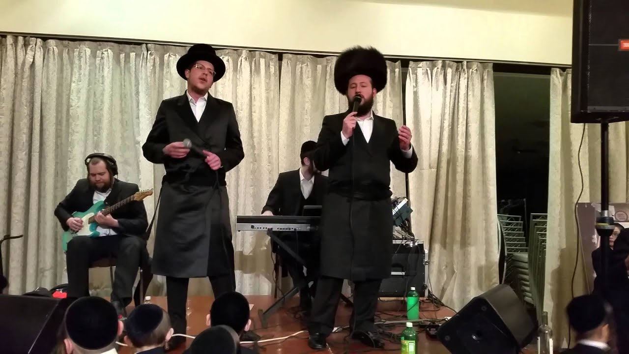 Shragee Gestetner and his brother Heshoo combining for an awesome wedding