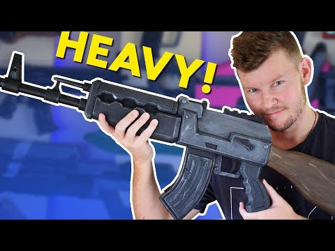 FORTNITE ... Heavy AR/ AK47   Cosplay Prop!!