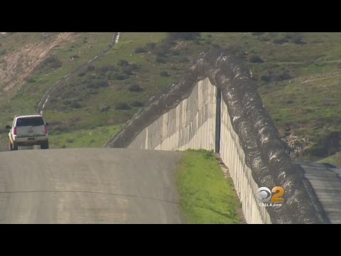 An Up-Close Look At U.S./Mexico Border Along San Diego County Where Trump Proposes To Build Wall