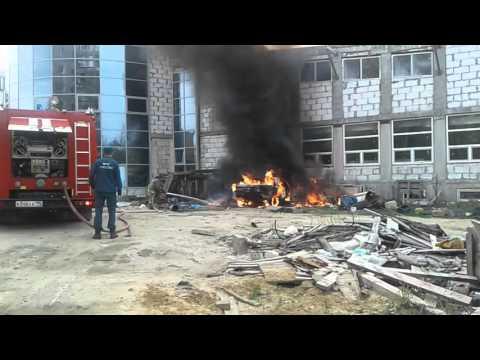 Пожар на стройке
