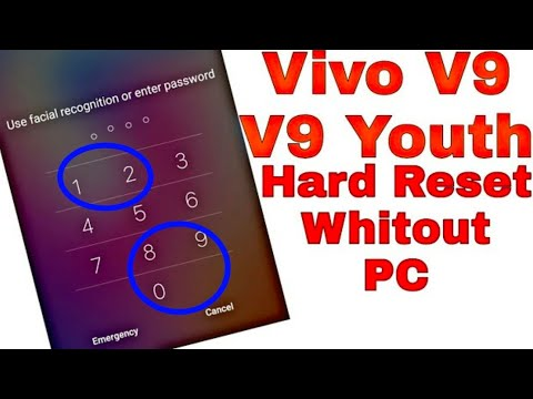 Vivo V9 Hard Reset Pattern Unlock 🔓 Forget Password