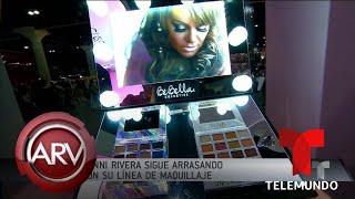 Jenni Rivera sigue arrasando con su línea de maquillaje | Al Rojo Vivo | Telemundo