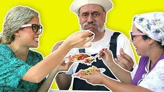 فوزي موزي وتوتي – اكل مين اطيب؟ - Who is the best cook?