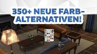 Neues Update mit 350+ neuen Farbalternativen! | Short-News | sims-blog.de