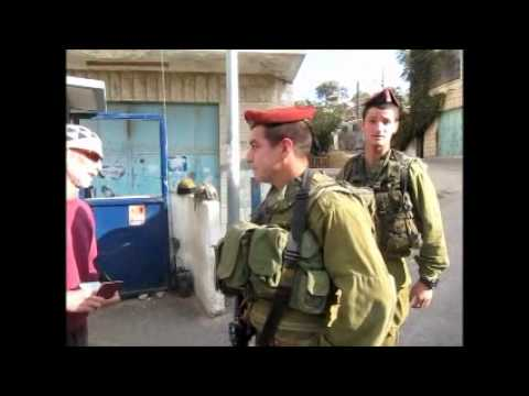 Israeli Checkpoints: Assaulting International Observers and Abusing Palestinians in Hebron